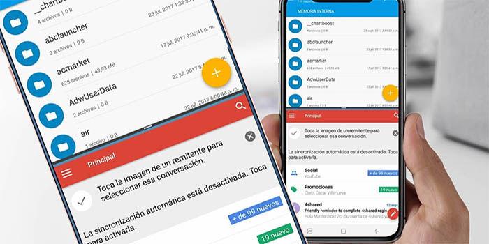 Tela dividida no Android