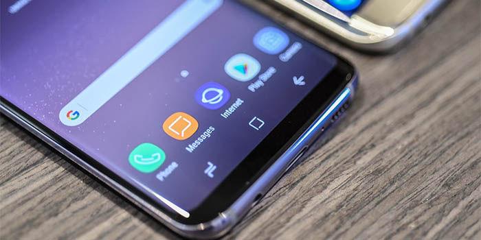 Pantallas curvas en Samsung