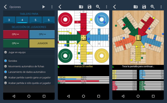 Parchis juego Android