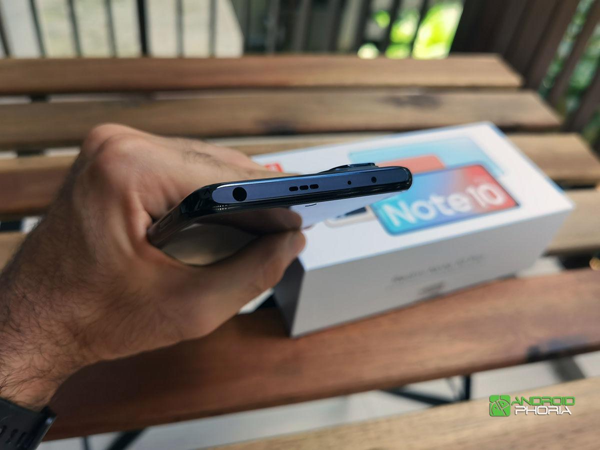 Parte superior Redmi Note 10 Pro