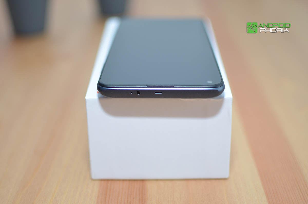 Parte superior Redmi Note 9T
