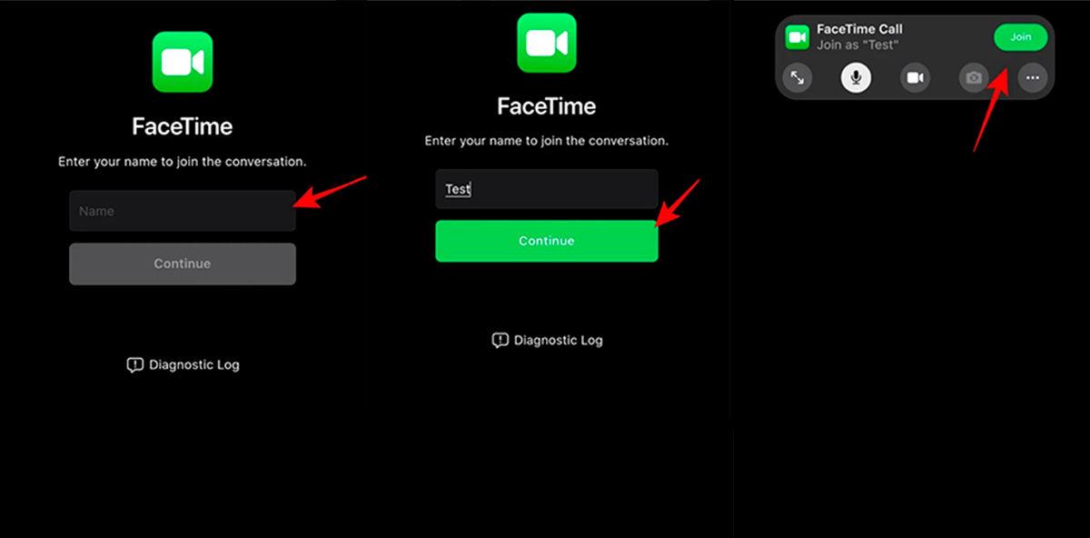 Participar en llamada FaceTime Android o Windows