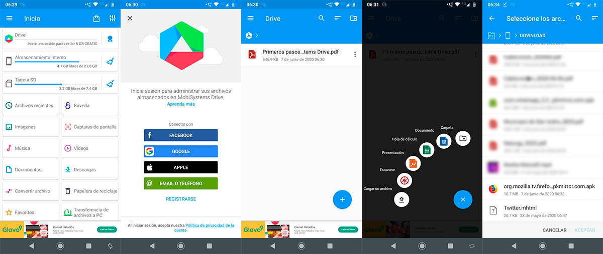 Pasar APK del movil a Android TV
