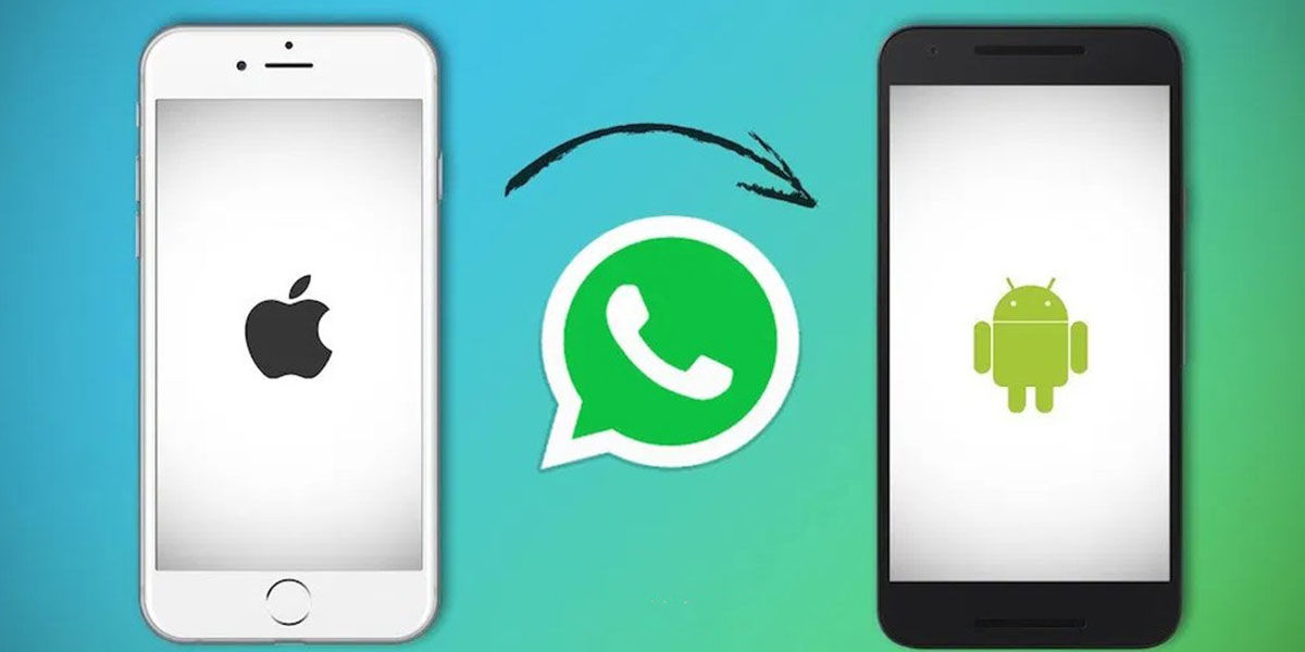 Pasar WhatsApp de iPhone a Android