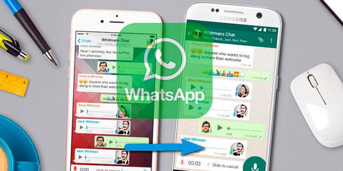 Pasar conversaciones WhatsApp iOS a Android