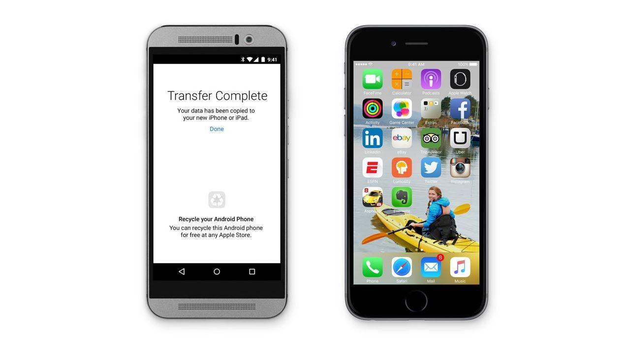 Pasar de Android a iOS fácil