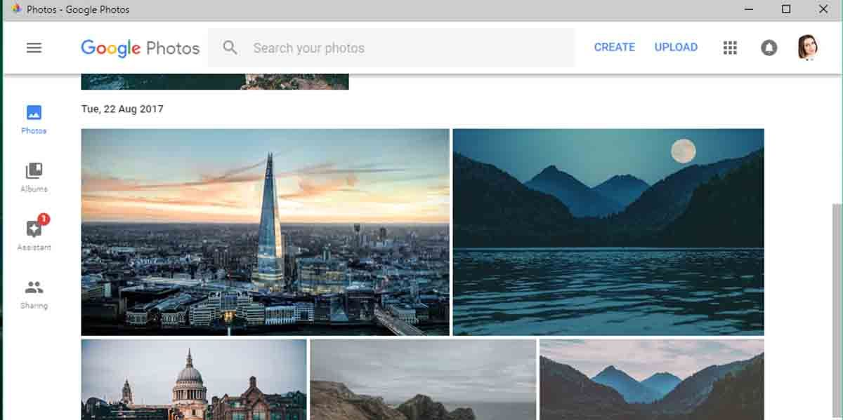 Pasar las fotos de Google Fotos a iCloud desde el ordenador