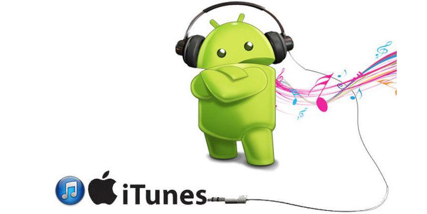 Pasar música de iTunes a Android
