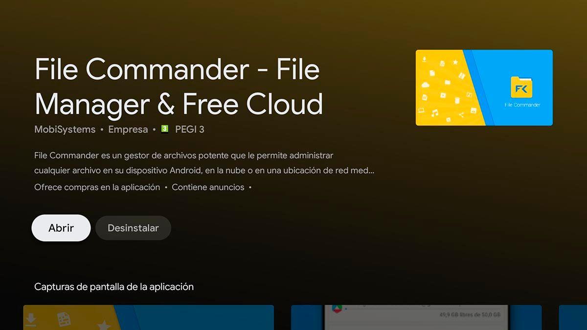 Paso 1 instalar File Commander
