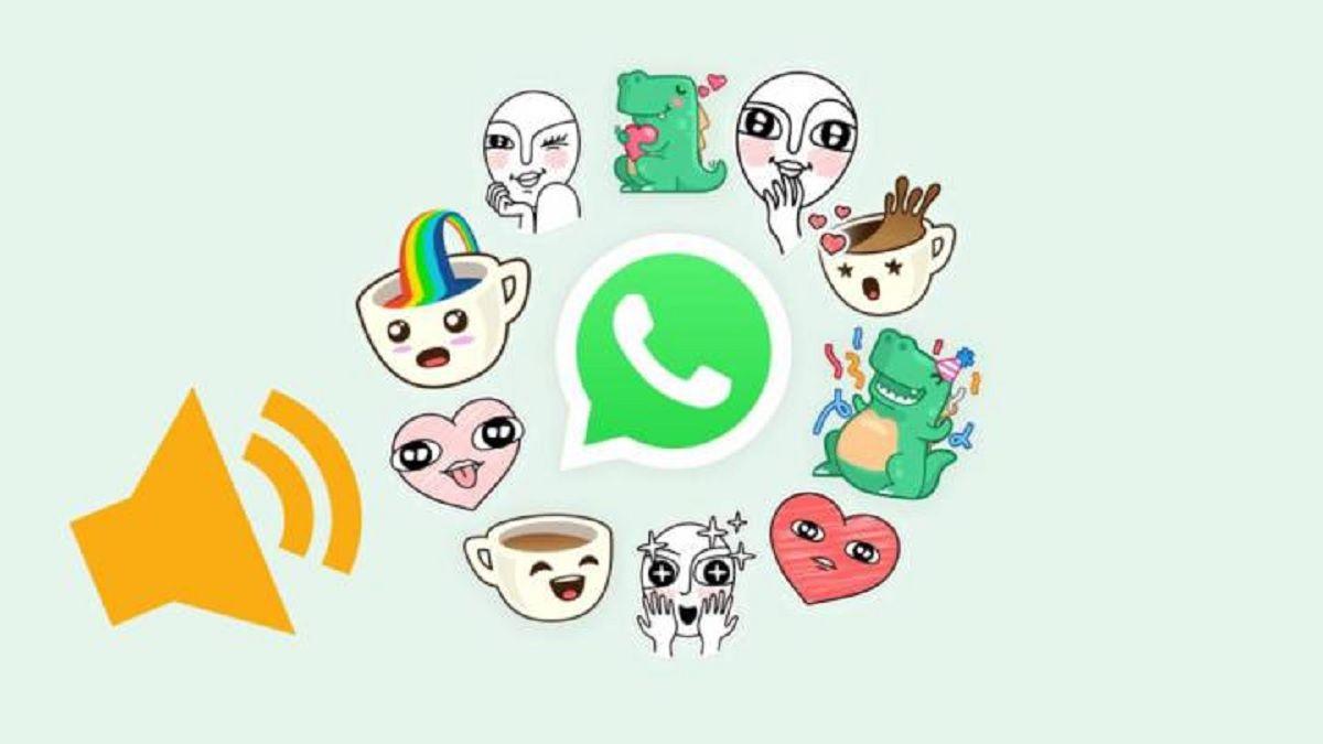 Pasos a seguir para crear y enviar stickers de WhatsApp con sonido