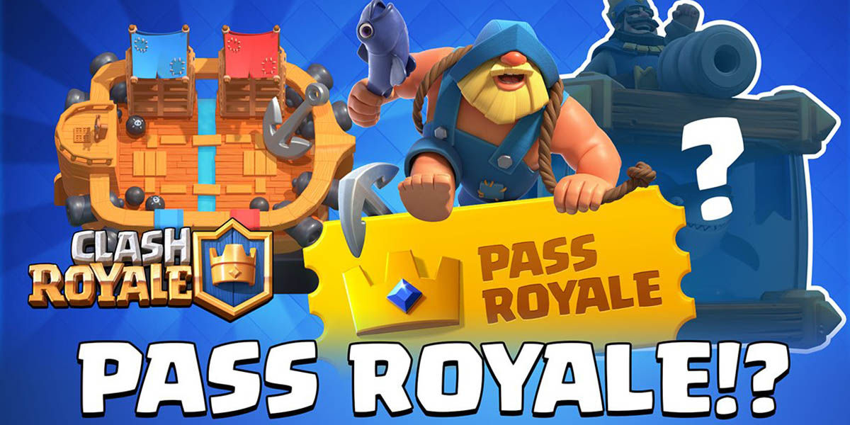 Clash Royale Pass Royale