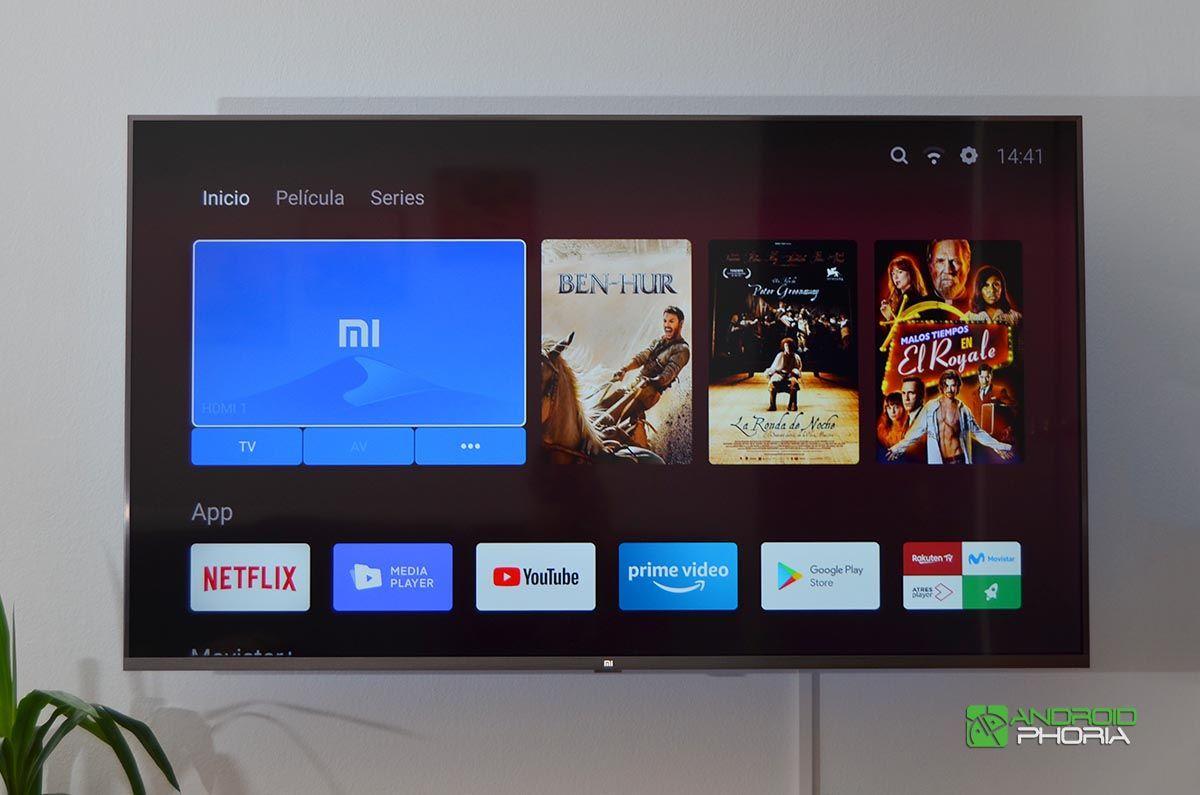 Patchwall Xiaomi Mi TV 4S 55