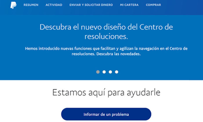 reembolso paypal