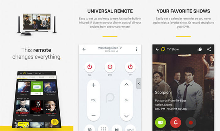 Peel Smart Remote para Android
