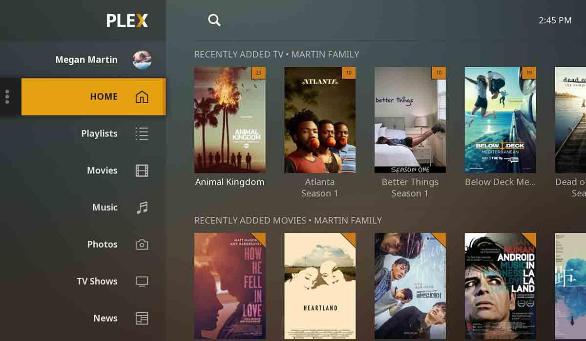 Películas y series gratis en Plex.tv