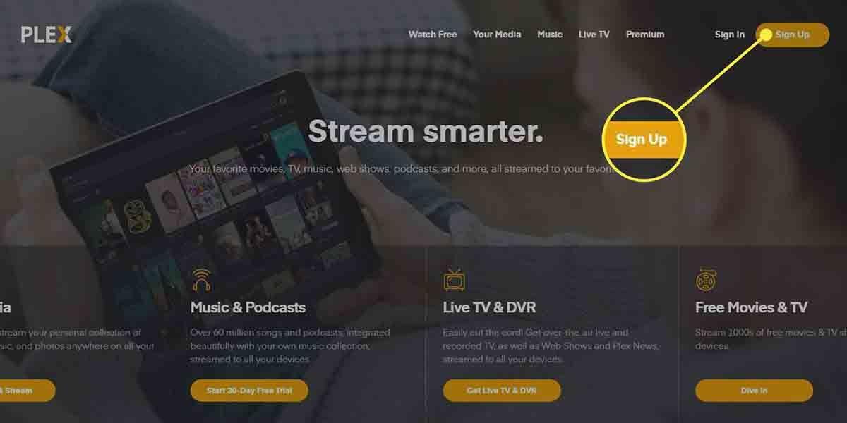 Pelis y series en Plex.tv gratis