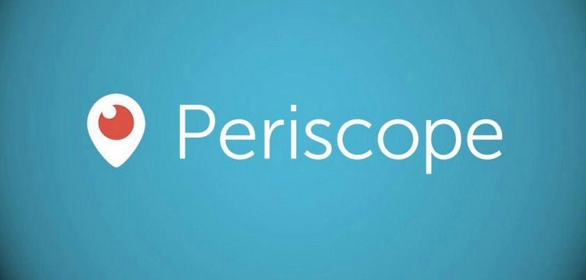 Periscope ya permite vídeo en modo paisaje y otras características