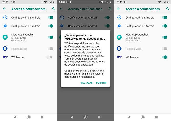 Permitir que WhatsApp lea los mensajes en voz alta