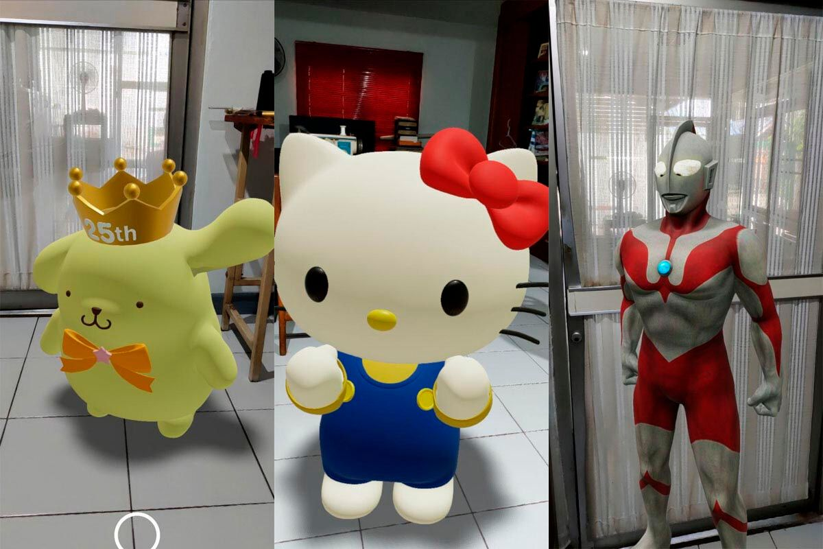 Personajes Realidad Aumentada Google