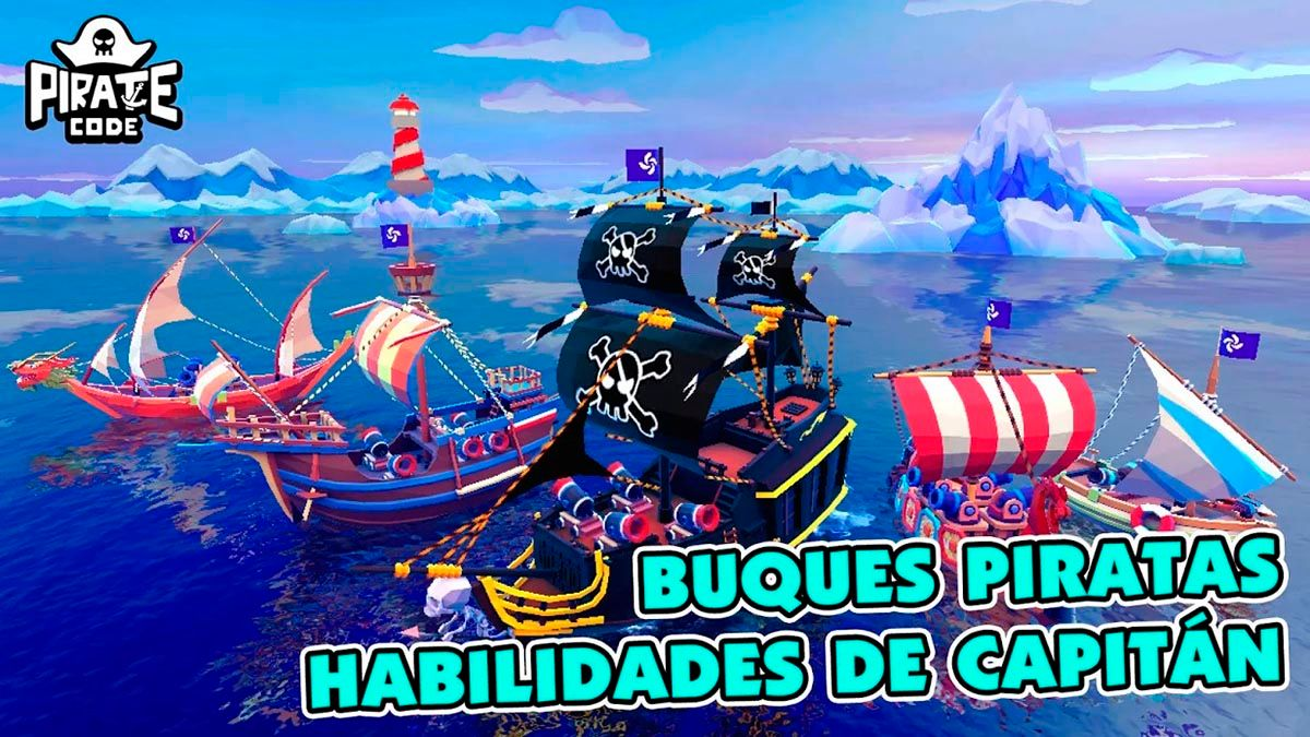Personalizar barco Pirate Code