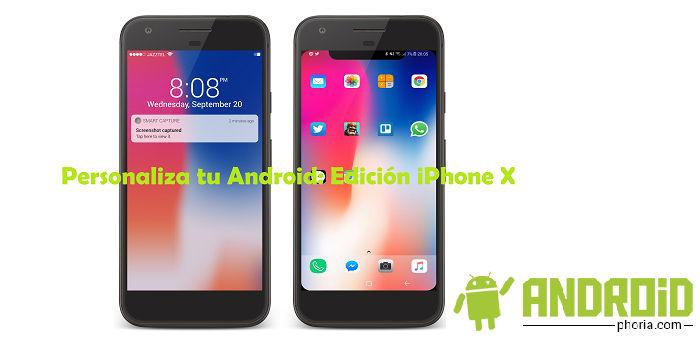Personalizar iPhone X