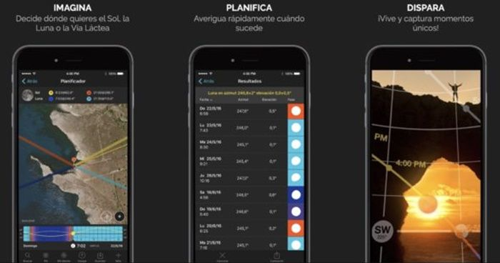 PhotoPills aplicacion Android