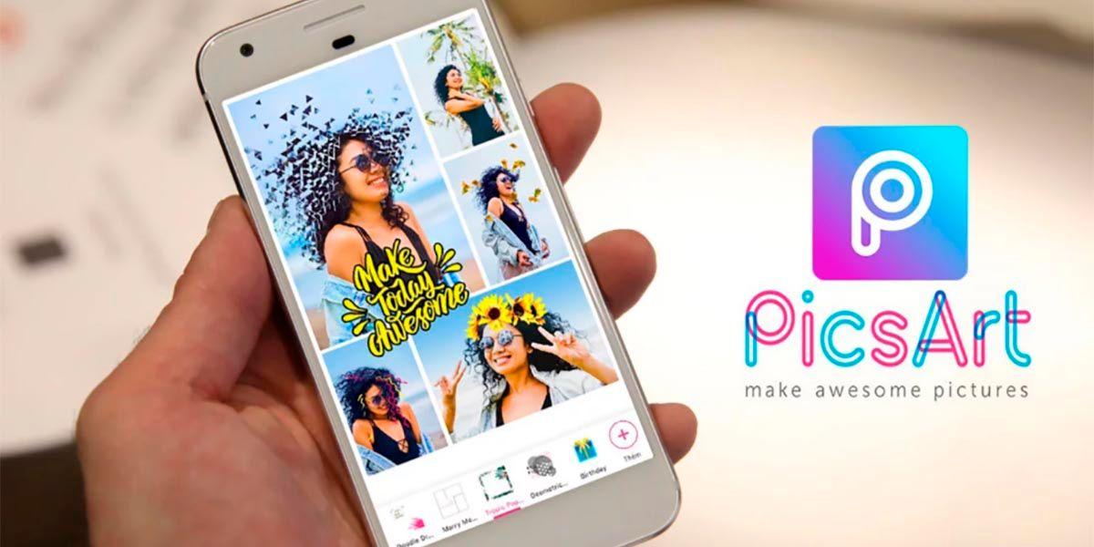 Picsart app genial para editar fotos y videos