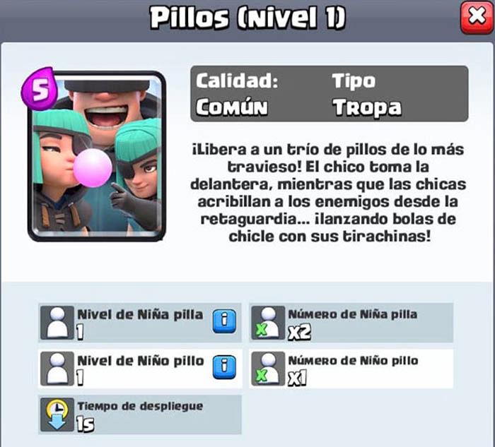 Pillos Clash Royale