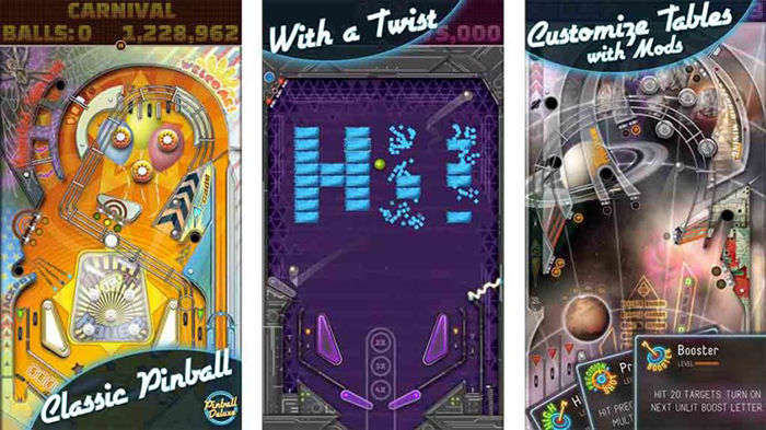 Pinball Deluxe Reloaded para Android
