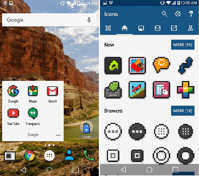 Pixbit Icon Pack para Android