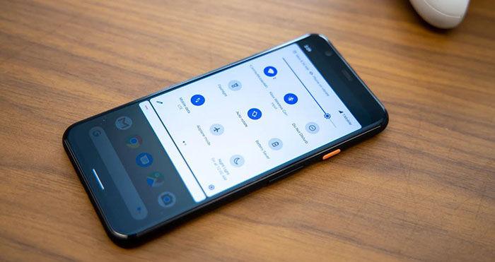 Pixel 4 ahorro bateria