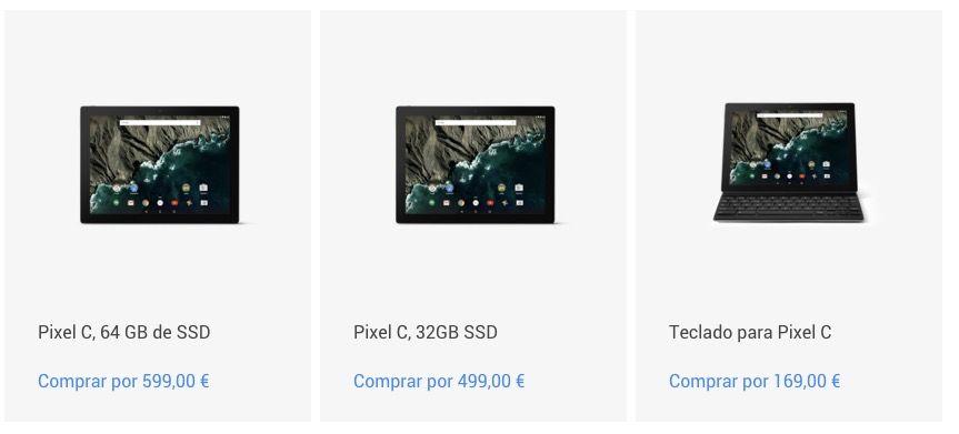 Pixel C: Características y precio