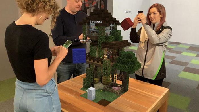 Placas de construccion Minecraft