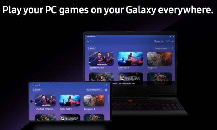 Play Galaxy Link PC smartphone