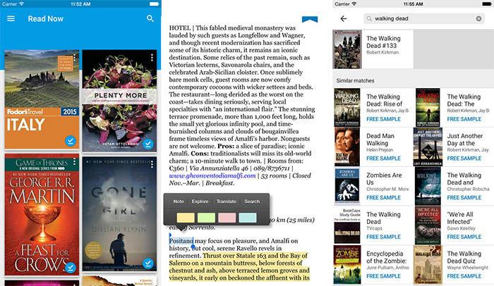 Play Libros para iPhone