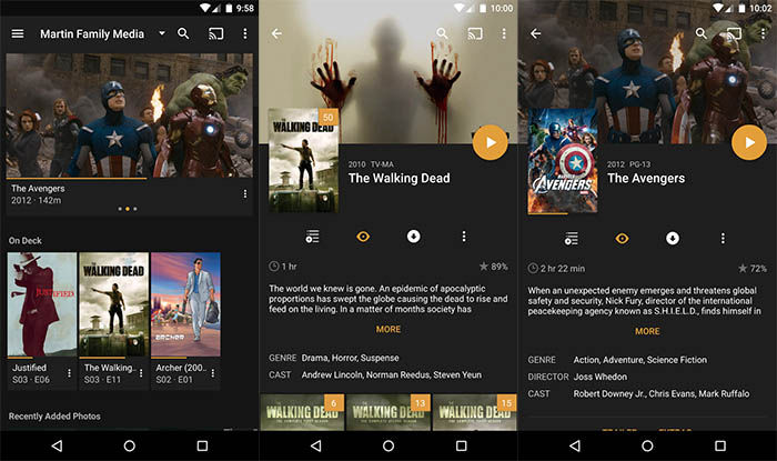 Plex Live TV en Android