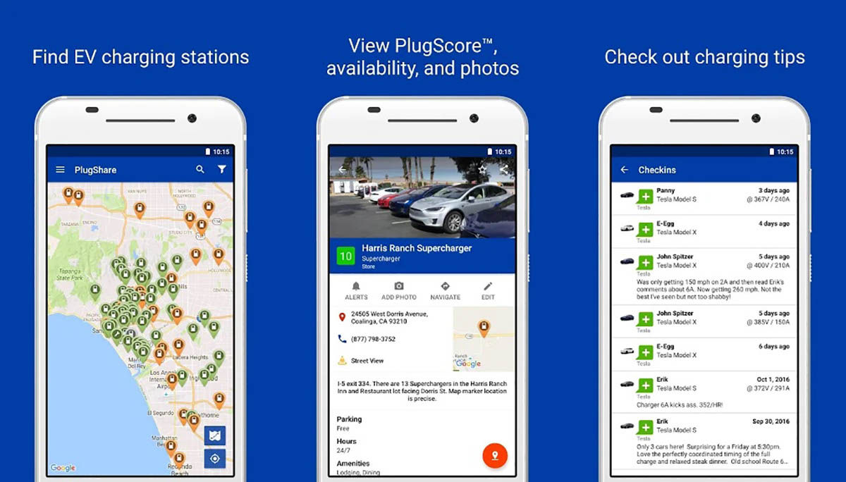 PlugShare para Android