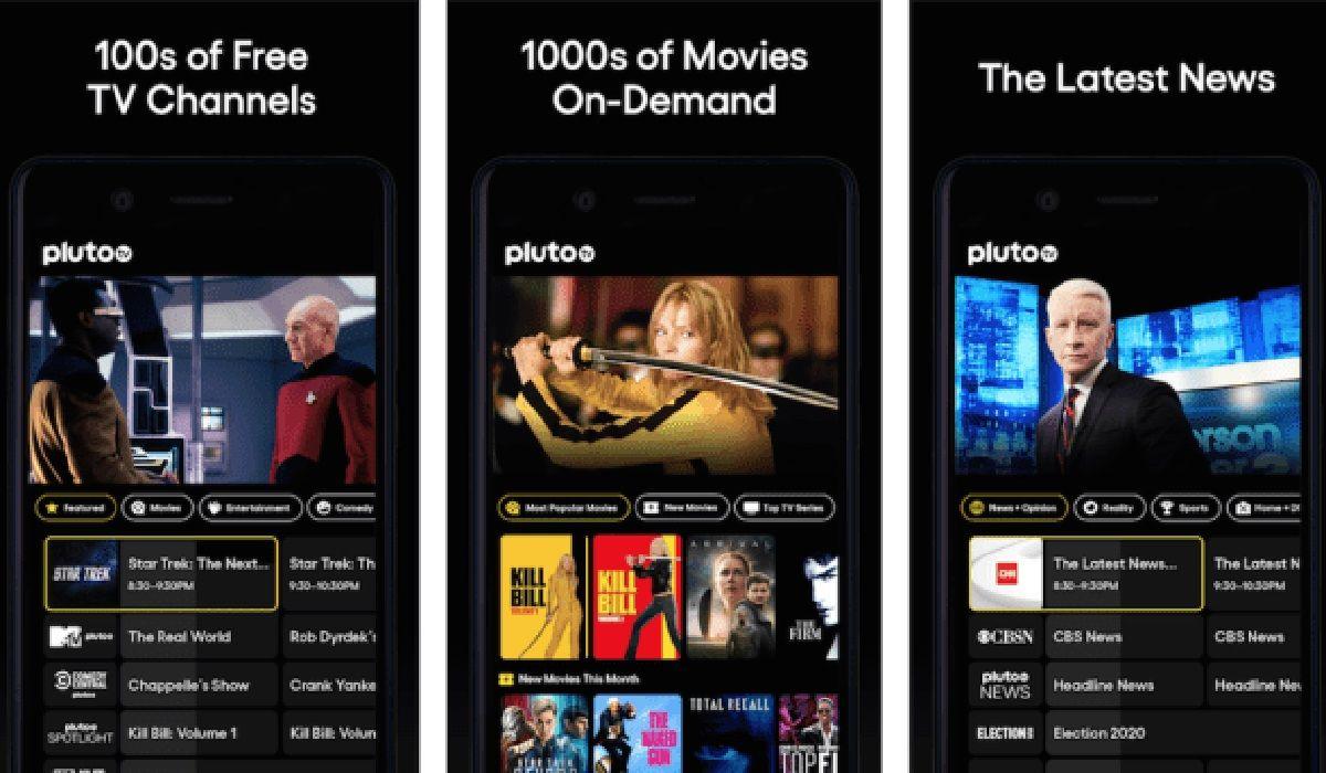 Pluto TV ver tele gratis