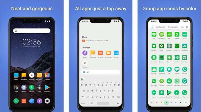 Poco Launcher para Android