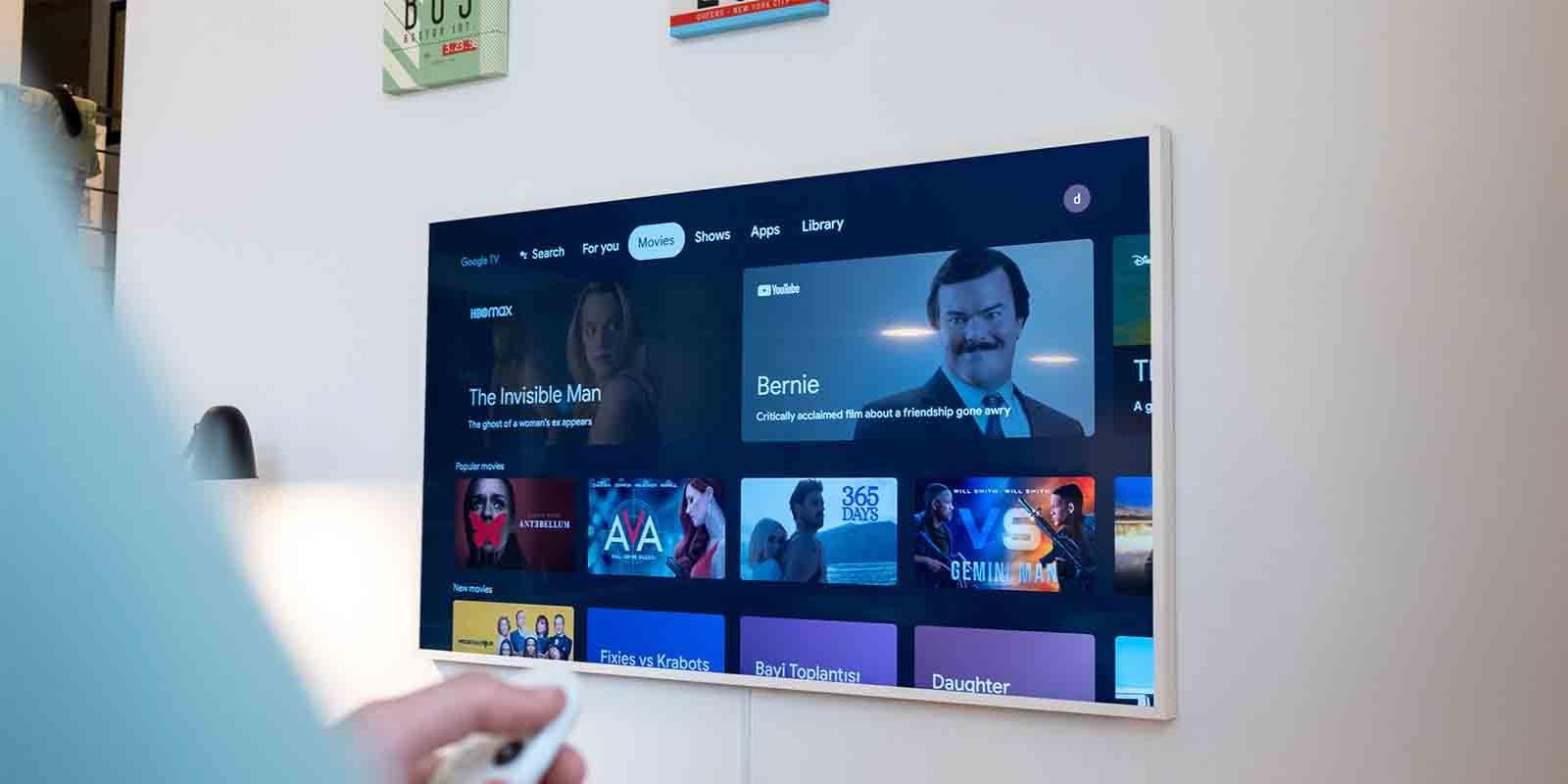 Poco espacio Chromecast con Google TV