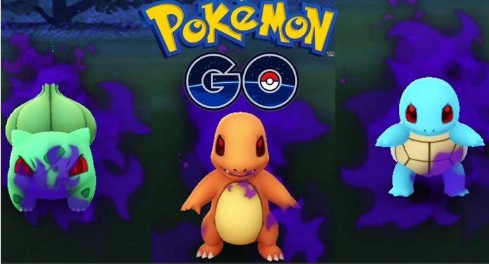 Pokémon Iniciales Oscuros