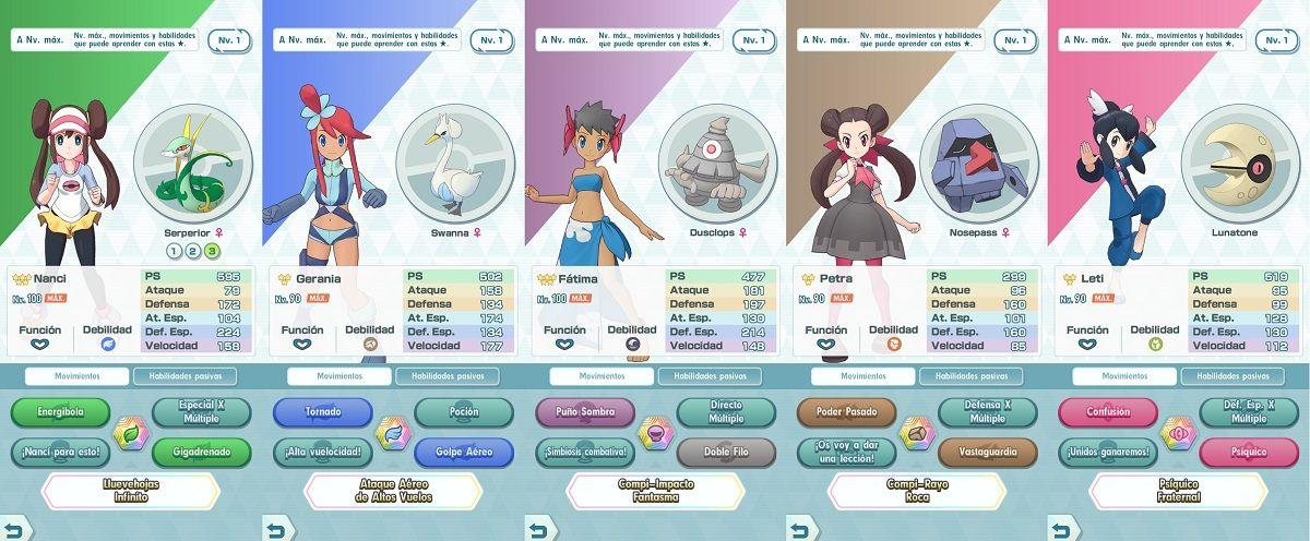 Pokémon Masters Apoyo