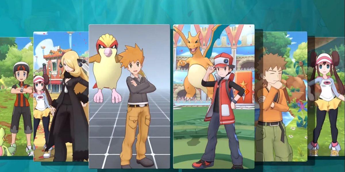 Pokémon Masters Entrenadores