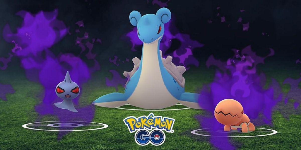 Pokémon Oscuros en la Pokeparadas del Team Go Rocket