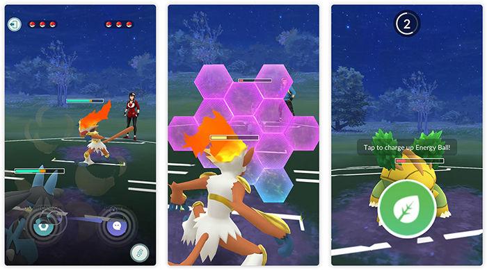 Pokemon Go batalla entre entrenadores