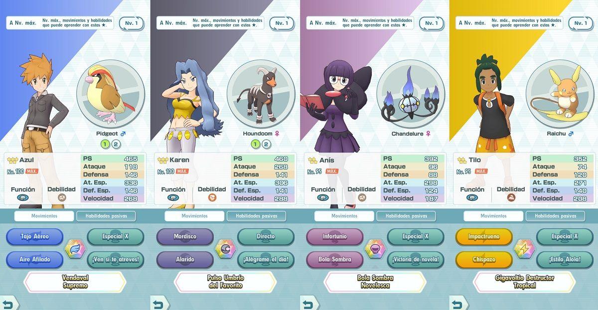 Pokemon Masters Ataque Especial
