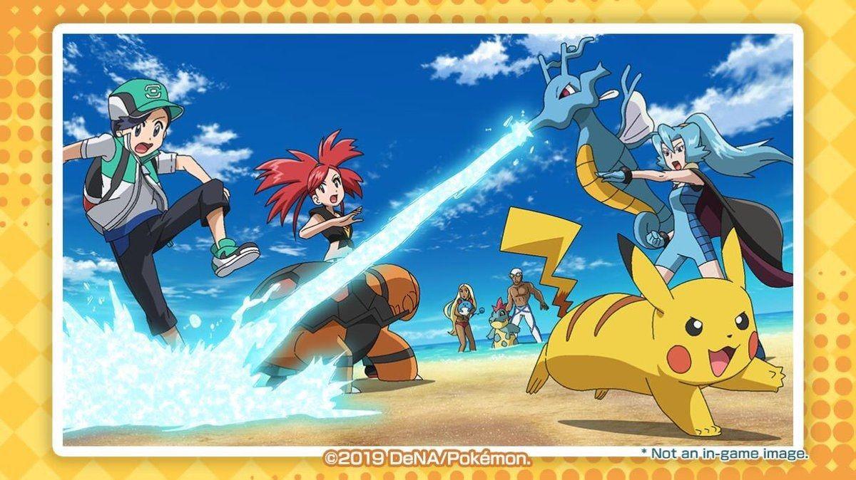 Pokemon Masters mejores compis