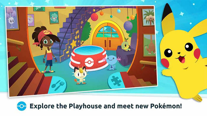 Pokemon Playhouse para Android