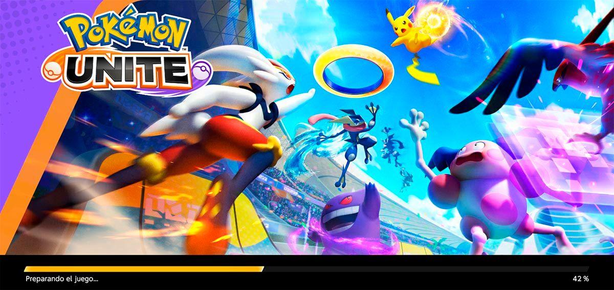 Pokemon UNITE se queda en 50