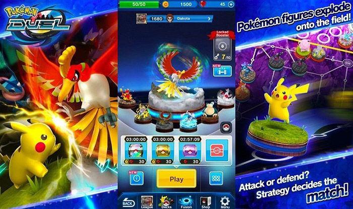 Pokemon duel para Android cierra